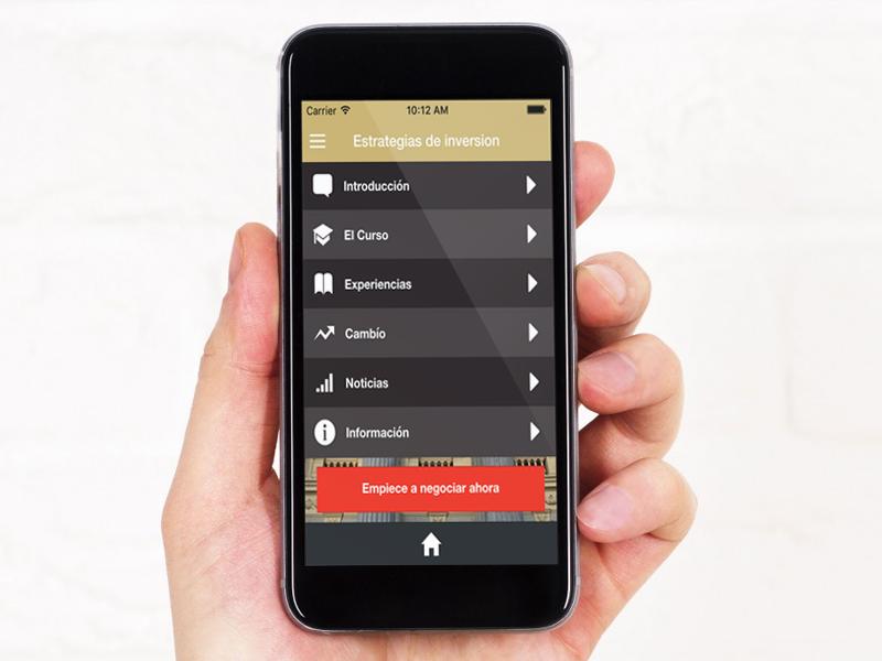 De beleggen in goud app