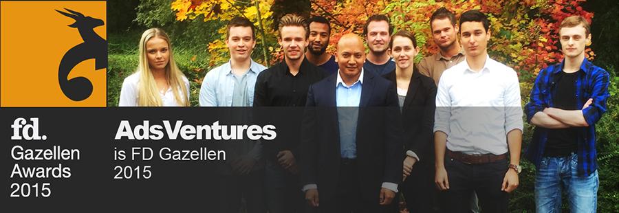 Teamfoto FD Gazellen Award 2015